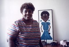 View #01.  Annie Tolliver signs her work as Annie T..  She is from Montgomery, Alabama, born in 1950.