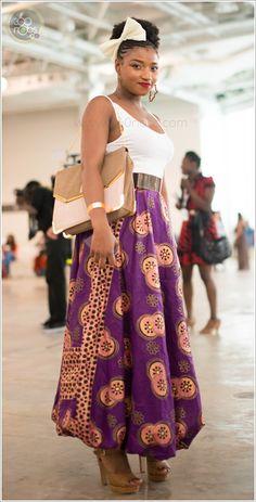 #AFWL2014 African Fashion Week London 2014 street fashion