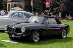 1955 Alfa Romeo 1900C SS cabriolet Tipo 55 Visconti