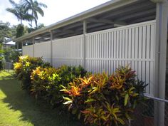 For carport & garage screening, look no further than Superior Screens, specialising in COLORBOND Steel & aluminium privacy screening products. Carport Plans, Carport Garage, Garage Doors, Carport Ideas, Fence Ideas, Yard Ideas, Enclosed Carport, Aluminum Carport, Porch Privacy