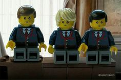 Kurt Jeff and Nick- Lego style Lego Boards, Glee Club, Chris Colfer, Legos, Making Out, Minions, Kids, 4 Life, Happy