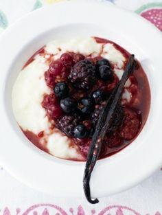 Roomrijst met vanille fruit - Recepten - Eten - ELLE | ELLE
