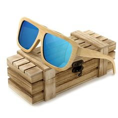 0c3969326f BOBO BIRD Bamboo Square Spectacle Frame. Beach SunglassesWooden ...