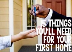 18 Things Youll Need for Your First Home - House Buying - Factors affect Home buying process - 15 Things You'll Need for Your First Home SafeWise Buying First Home, Home Buying Tips, First Time Home Buyers, Moving Day, Moving Tips, Just In Case, Just For You, New Homeowner, Real Estate Tips