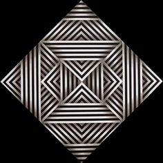 Cromometrofonía, a work by the mexican composer and music theorist Julián Carrillo one of the most important developers of the microtonal music . Zentangle Patterns, Quilt Patterns, Colombian Art, Triangle Art, Victor Vasarely, Geometry Pattern, Principles Of Design, Illusion Art, Fractal Art