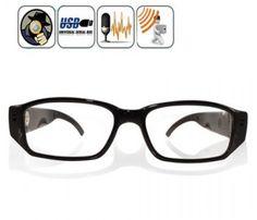 Protech34 - Dinleme Cihazları: Full HD Okuma Gözlüğü Gizli Kamera