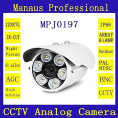 41.97$  Buy here - http://aliwfk.worldwells.pw/go.php?t=32533817711 - J197b 4mm 6mm 8mm 12mm 16mm lens Bullet camera Vigilancia 1200TVL Yi CCTV Ant home video security surveillance camera from China