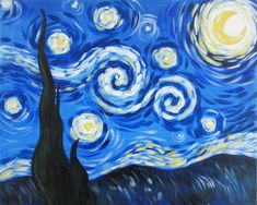 Starry Wine | ... Events | Painting Classes | Painting Calendar | Paint and Wine Classes