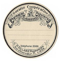 great old label