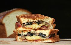 Grill My Cheese on Pinterest | Grilled Cheese Sandwiches, Grilled ...