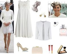 ShopStyle: Kate Middleton is angelic at Epsom by Shopstyle UK