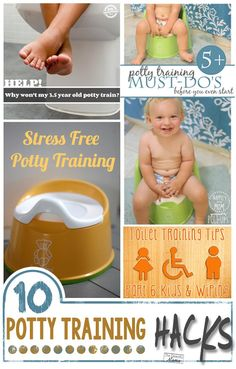 10 Awesome Potty Training Hacks - Tips that actually work! I plan on trying #4
