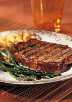 Maple Glazed Pork Chops Recipe From 125 Best Indoor Grill Recipes ...