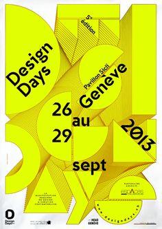 Poster Design Days 2013