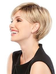 Image result for short haircut tucked behind ears