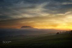 foschie al tramonto - null