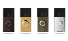 Ring's Video Doorbell is our top pick for doorbell cameras. It's super sleek and you can keep track of what's going on even when you're not home. Wireless Home Security Systems, Security Camera System, Security Surveillance, Surveillance System, Wireless Video Camera, Ring Video Doorbell, Hd Video, Wifi, Cool Things To Buy
