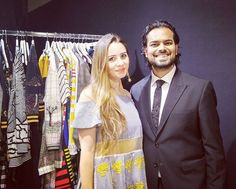 On the backastage with talented @rahulmishra_7 and super blogger @lacoquetteitalienne #designer #blogger #influencer #paris #fashionshow #fashionweek #CollezioniDonna #rtw #chambresyndicaledelamodeshow #parisfashionweek #aw1718 #pfw @parisfashionweek  via COLLEZIONI MAGAZINE OFFICIAL INSTAGRAM - Celebrity  Fashion  Haute Couture  Advertising  Culture  Beauty  Editorial Photography  Magazine Covers  Supermodels  Runway Models