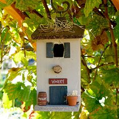 "Birdhouse ""tasting room"""