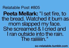 Ok. I love Hunger Games but I thought this was really funny. :) I DO NOT OWN THIS!