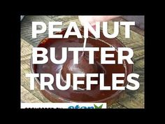 Here's the easiest recipe on how to cook peanut butter truffles! Just 4 ingredients to make this healthy, low carb and keto friendly recipe.