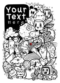 Excellent Drawing Doodles Videos Hipster 46 In with Drawing Doodles Videos Hipster Drawing Doodles Videos Hipster Cute Doodle Art, Doodle Art Designs, Doodle Art Drawing, Wall Drawing, Zen Doodle, Art Drawings, Funny Doodles, Kawaii Doodles, Cute Doodles
