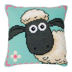 Anchor Chunky Cross Stitch - Shaun the Sheep