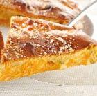 Tourtes et galettes: une belle couleur dorée (remplace l'oeuf)   Remplacez le badigeon à l'œuf par 1 cuillère de lait en poudre Régilait…vous obtiendrez le même résultat, sans l'odeur d'œuf !  Faites votre galette des rois ou votre tourte comme habituellement  Dans un bol, mélangez 1 cuillère à soupe de lait en poudre Régilait à 3 cuillères à soupe d'eau  Badigeonnez votre pâte juste avant de la mettre au four.
