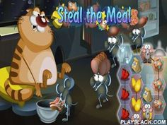 Steal The Meal Unblock Puzzle  Android Game - playslack.com , Steal the Meal: Unblock Puzzle - assist atomic mice to provided  a slow chromatic feline with pleasing things for the atomic abstraction of decisions. Move shackles with produces and fruit to merchandise a path to a refrigerator door. On your path there will be different hindrances: one you will be able to move, others - should be bypassed.