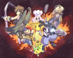 Super Smash Bros Brawl (Yay, Dark Pit, Lucario, and Sheik are my favs!)