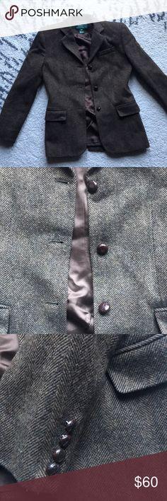Ralph Lauren wool jacket Super cute Ralph Lauren wool jacket in great condition Lauren Ralph Lauren Jackets & Coats Blazers
