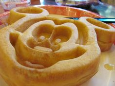 Mickey waffles are not only cute, but delicious.