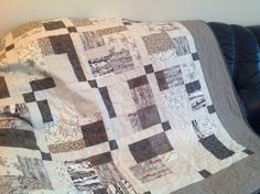 I am so happy to have made this. Fun quilting.