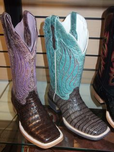 Ariat's Nitro Caiman Belly Boots
