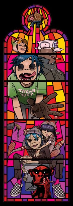 Pictures on Walls - Art - Jamie Hewlett