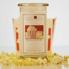 this is one of my husband's favorite foods in the world! He was very happy eating a whole bag while watching his favorite shows last night! Best Candles, Soy Wax Candles, Candle Wax, Scented Candles, Spark Up, Butter Popcorn, Summer Scent, Jewelry Candles, Healthier You