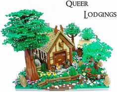 LEGO The Hobbit Queer Lodgings http://thebrickblogger.com/2012/09/the-best-lego-lord-of-the-rings-dioramas/