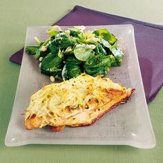 Filets de poulet en croûte de pommes de terre Recette | Weight Watchers