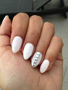 Pointy nails and studs #nanasblog