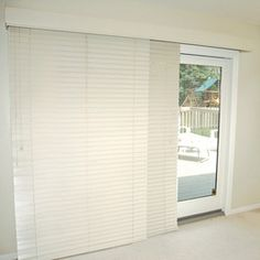 window treatments for large sliding doors - Google Search