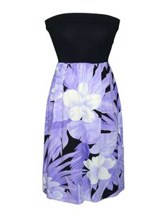 ce541f8f42 Check out the deal on Hibiscus Wish Short Knit Top Strapless Dress at Shaka  Time Hawaii