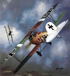 Conquering My Fear of Flying Ww2 Aircraft, Military Aircraft, Voss, War Thunder, Fear Of Flying, Civil War Photos, World War One, Aviation Art, Military Art