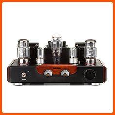 GemTune GS-02 Class A Integrated KT88 vacummTube Amplifier with KT88X2, 6N8PX2, 5Z3PX1 - Audio gadgets (*Amazon Partner-Link)