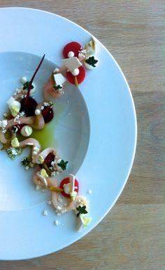 Fluke with Beet Root, Sorrel Juice, Wood - Matt Blondin - The ChefsTalk Project