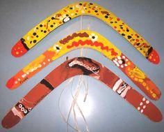 PEINTURE: boomerangs