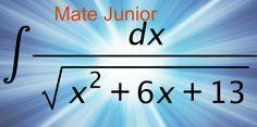 Integrales completando trinomio cuadrado. Sigueme en facebook como Mate Junior