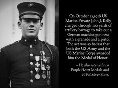 What a badass looks like. Marine Corps History, Us Marine Corps, Military History, Famous Marines, Medal Of Honor Recipients, American Veterans, American Soldiers, Military Love, Military Equipment