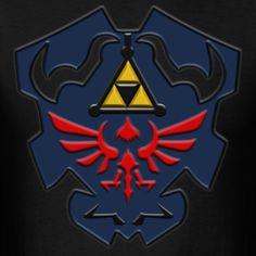 Much Needed Merch | Dark Link Shield Mens T Shirt S-XXL #Zelda