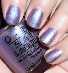 OPI The Color to Watch. I chose this color at the salon, and I absolutely love it!