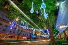 HDR Photo: Orchard road